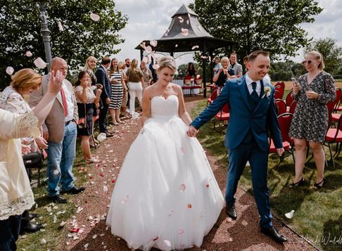 Jenny & Peter: freie Trauung am Gut Kump in Hamm + Feier in den Wielandstuben