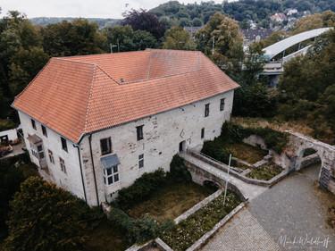 Haus Herbede Witten Hochzeit Drohne