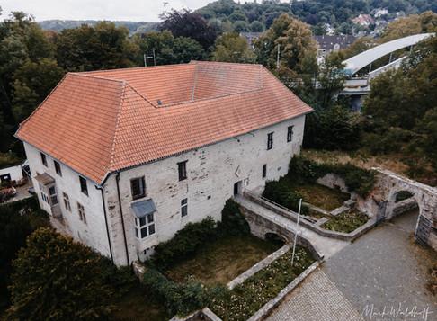Kira & Jens: standesamtliche Hochzeit im Haus Herbede (Witten)