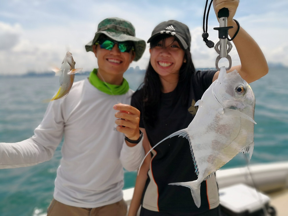 Fishing Singapore African Pompano