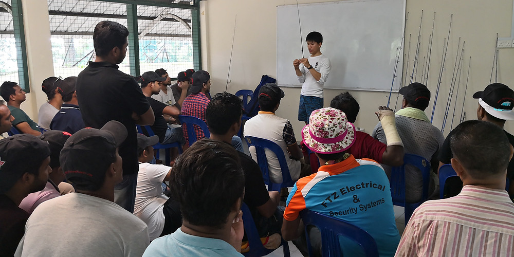 Classroom session for TWC2 workers