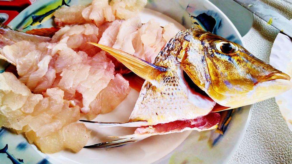 spangled emperor sashimi
