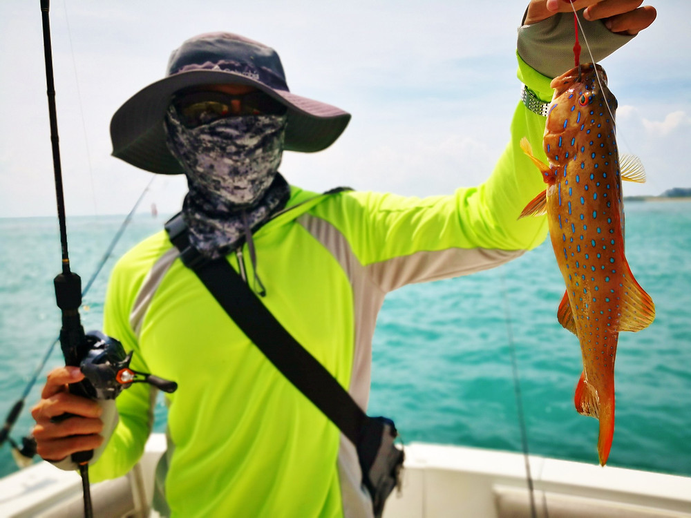 coral trout on tenya