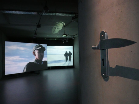 """Exhibition """"Laws of Time"""" at Feldfünf"""