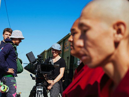 on the set with monks (1)