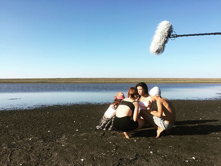 dry sea in Kalmykia