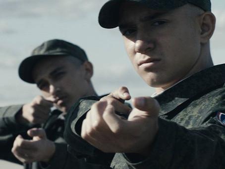 on the set with cossacks cadet corp of Gorodetsk. Kalmykia (2)