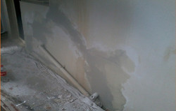 Wall After Being Patched