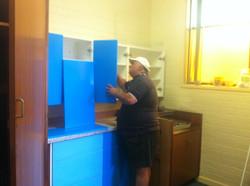 Handyman Sam Adding New Cabinets