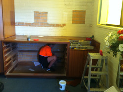 Removal Of Old Cabinets