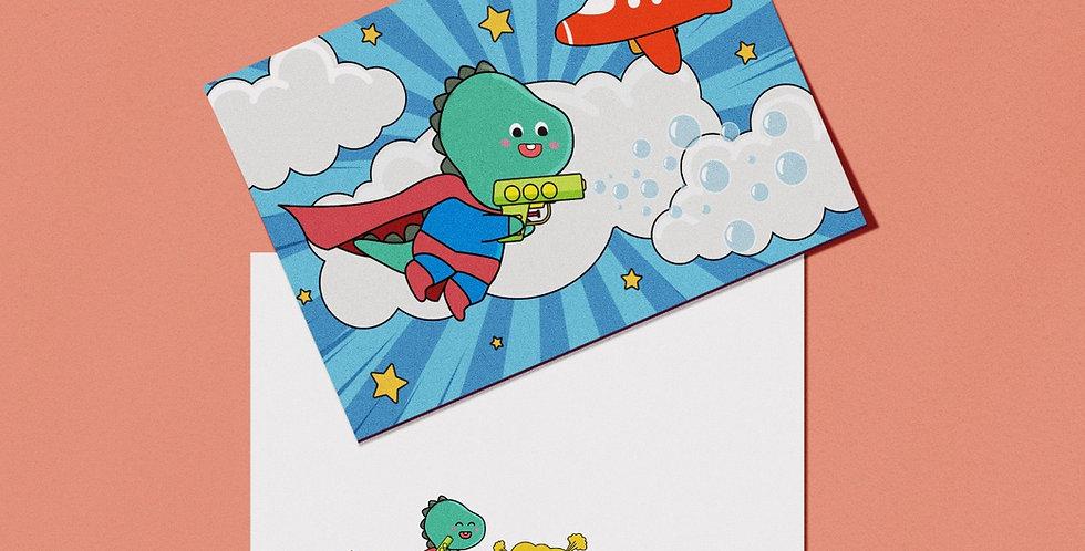 SUPERHERO CUSTOM CARDS