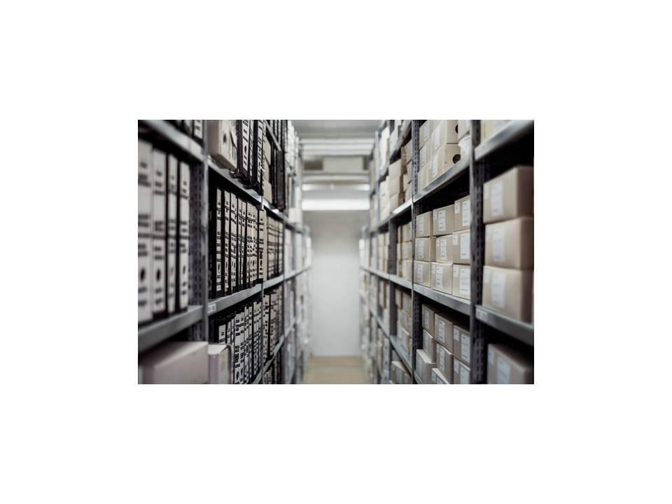 Archivo almacenado en Trasteros Eslava