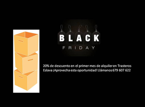 Black Friday en Trasteros Eslava