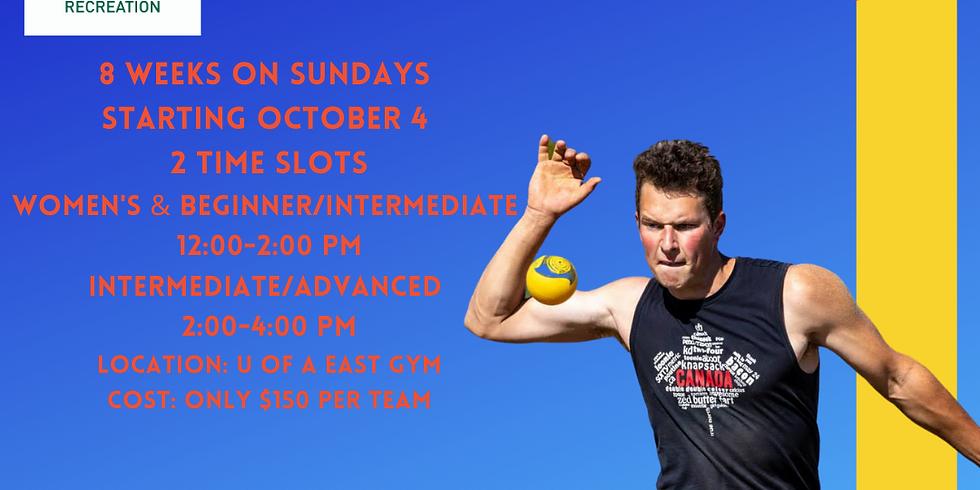 Edmonton Roundnet Fall League