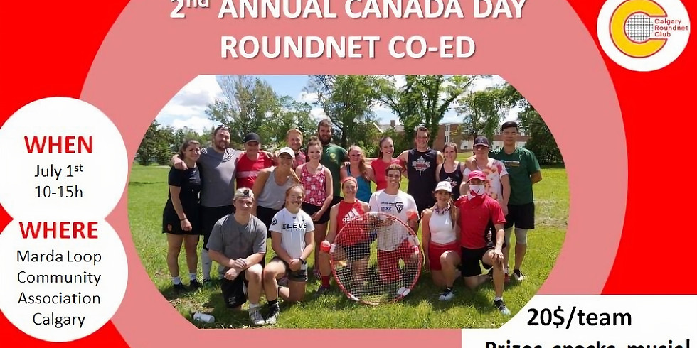 2nd Annual Canada Day Co-Ed Tournament