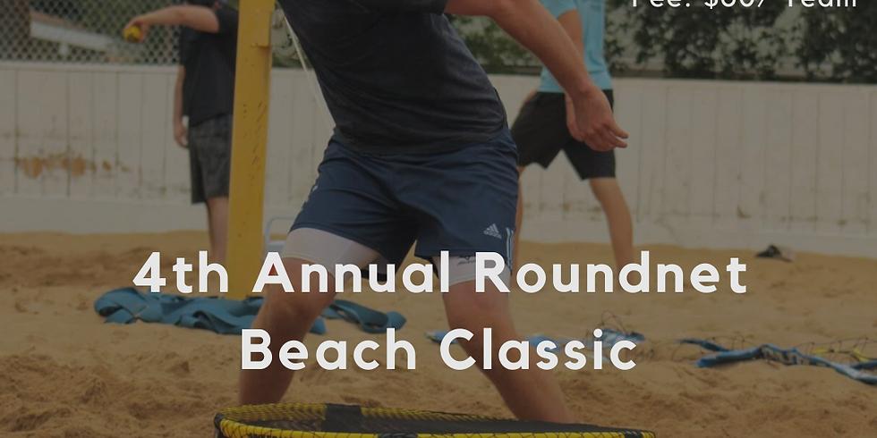 4th Annual Roundnet Beach Classic