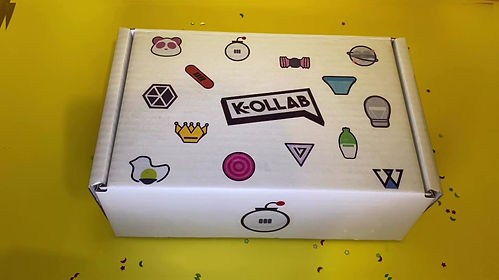 K-OLLAB UNBOXING VIDEO