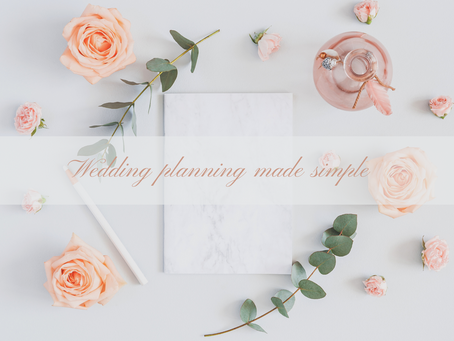 Your Guide To Making Wedding Planning Easy