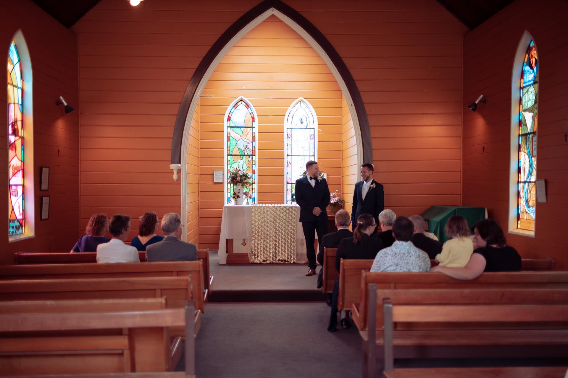 Chris & Loran Wedding - St Patrick's Chu