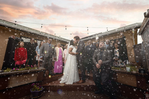 Wainuiomata Backyard Wedding Wellington
