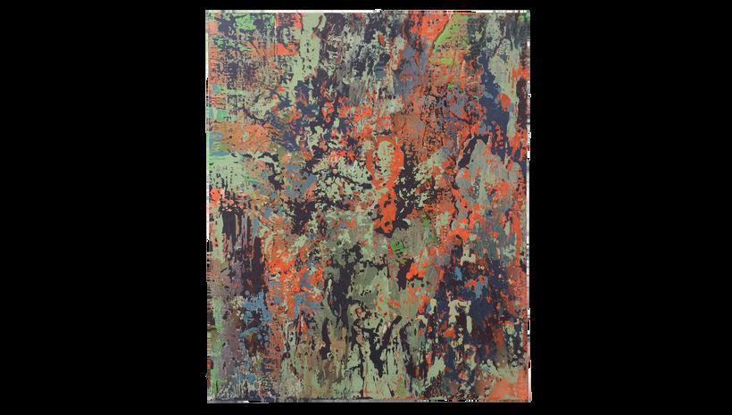 "MOROCCO, 2017, Acrylic on canvas, 60"" X 48"""