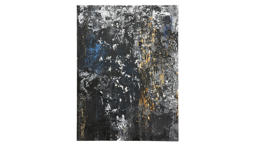 "STREET SLICK, 2016, Acrylic on canvas, 48"" X 36"""