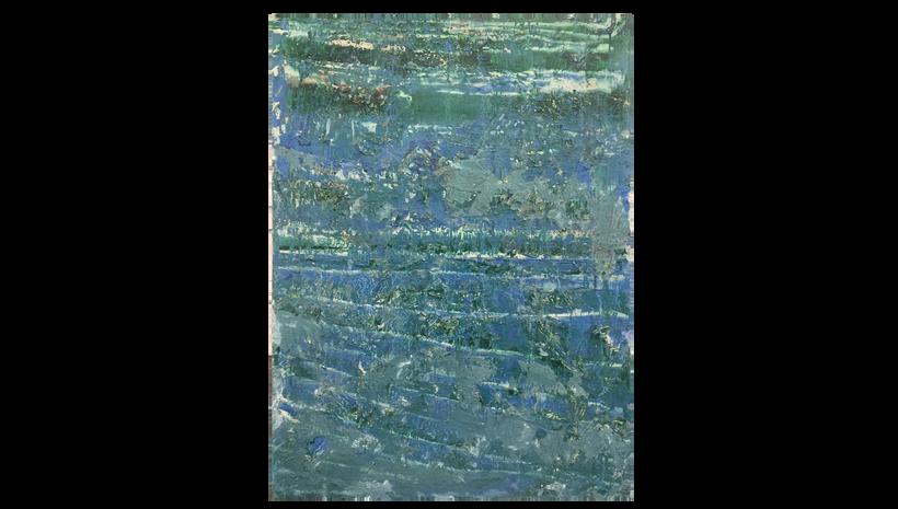"SHALLOW TIDE, 2016, Acrylic on canvas, 48"" X 36"""