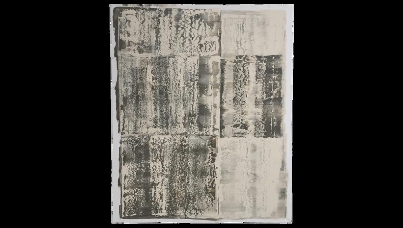 """EMULSION, 2017, Acrylic on canvas, 60"""" X 48"""""""