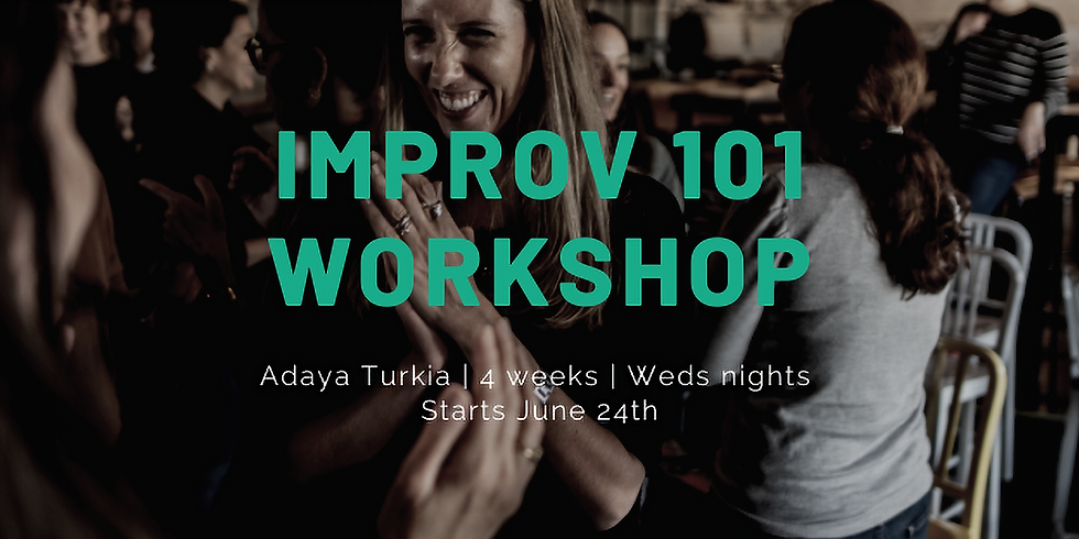Cancelled: Summer Improv 101 Workshop: Intro To Improv