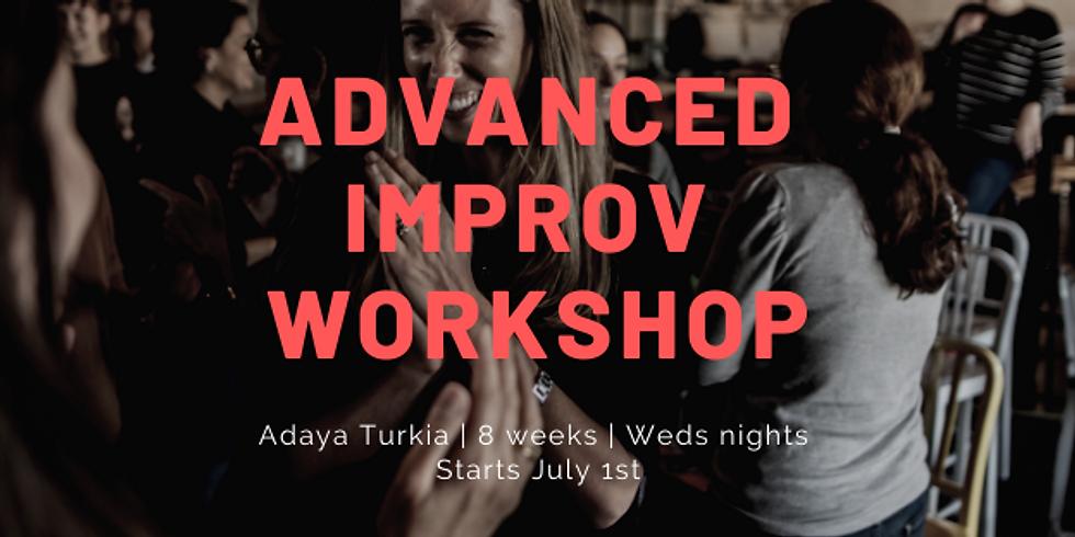 Summer Advanced Improv Workshop: Deep Dive into Long Form