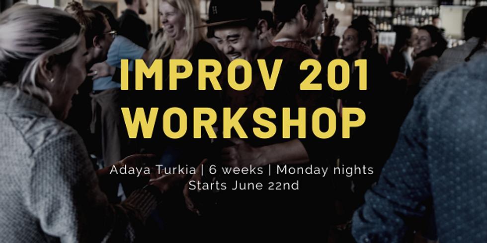 Improv 201 Workshop: Emotion, Character, Relationship