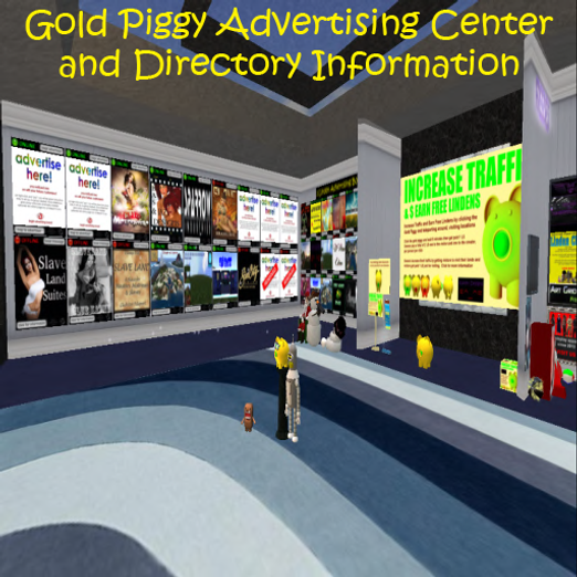 Gold Piggy Advertising Center and SL Dir