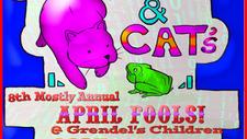 April Fools Frog n Cats at Grendels Children 02.04.21