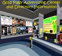 Gold Piggy Advertising Centre Square Ad.