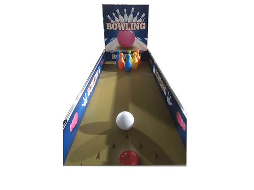 עמדות יריד וביתני משחק לפורים | שולחן משחק באולינג | גיבושון אטרקציות