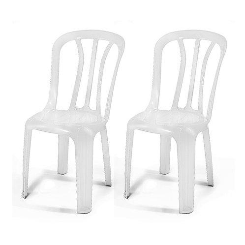 כסא כתר פלסטיק לבן להשכרה