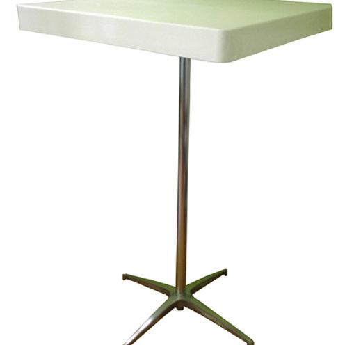 שולחן בר לבן ל-4 סועדים להשכרה