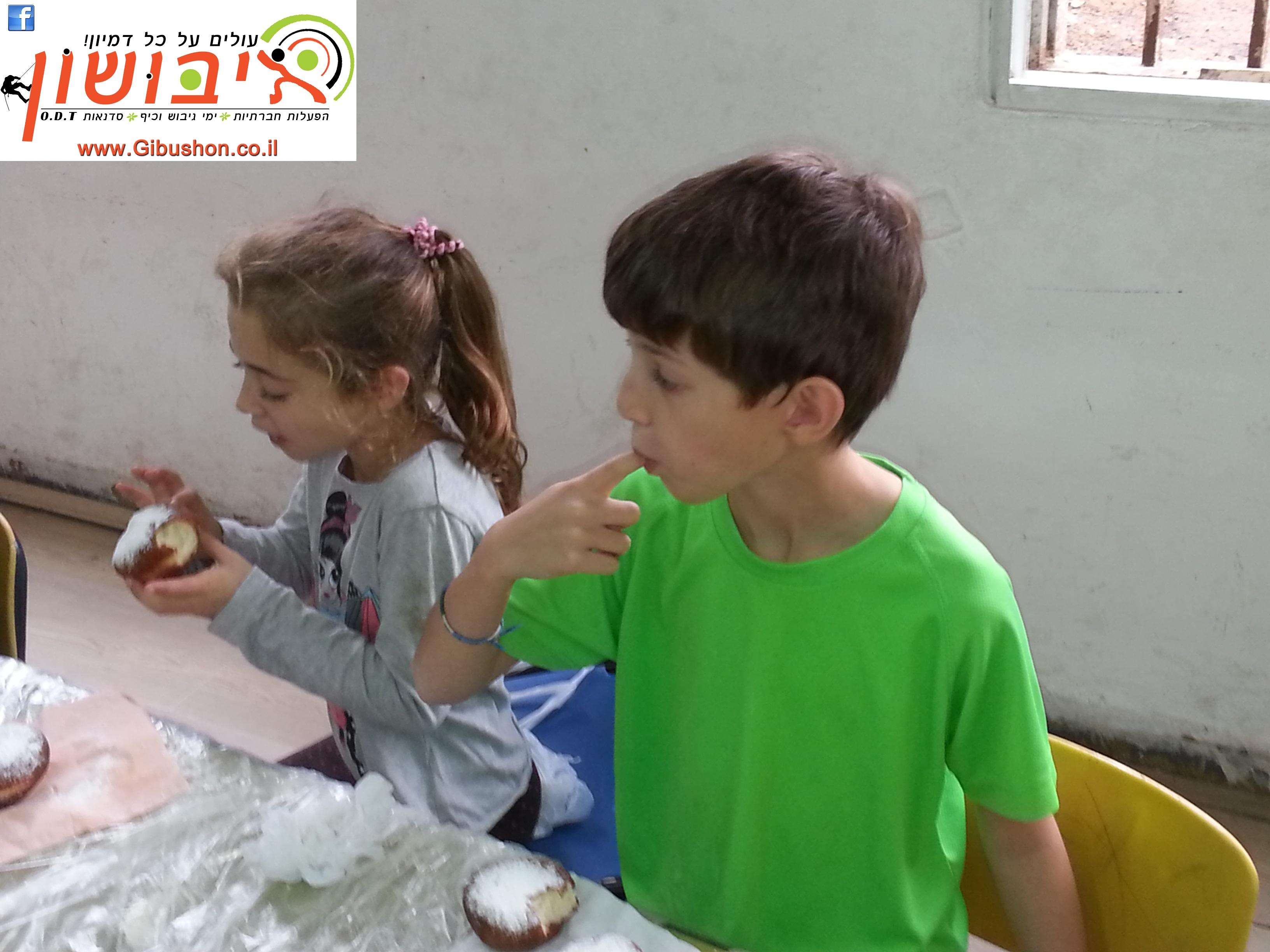 סדנאות סופגניות לילדים