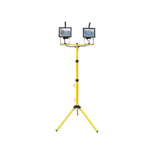 עמוד תאורת הלוגן כפול להשכרה