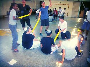 משחקי אתגר לתלמידי כרם שלמה