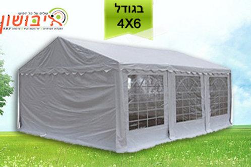 אוהל להשכרה בגודל 6*4
