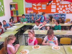 סדנאות לילדים בפיצה