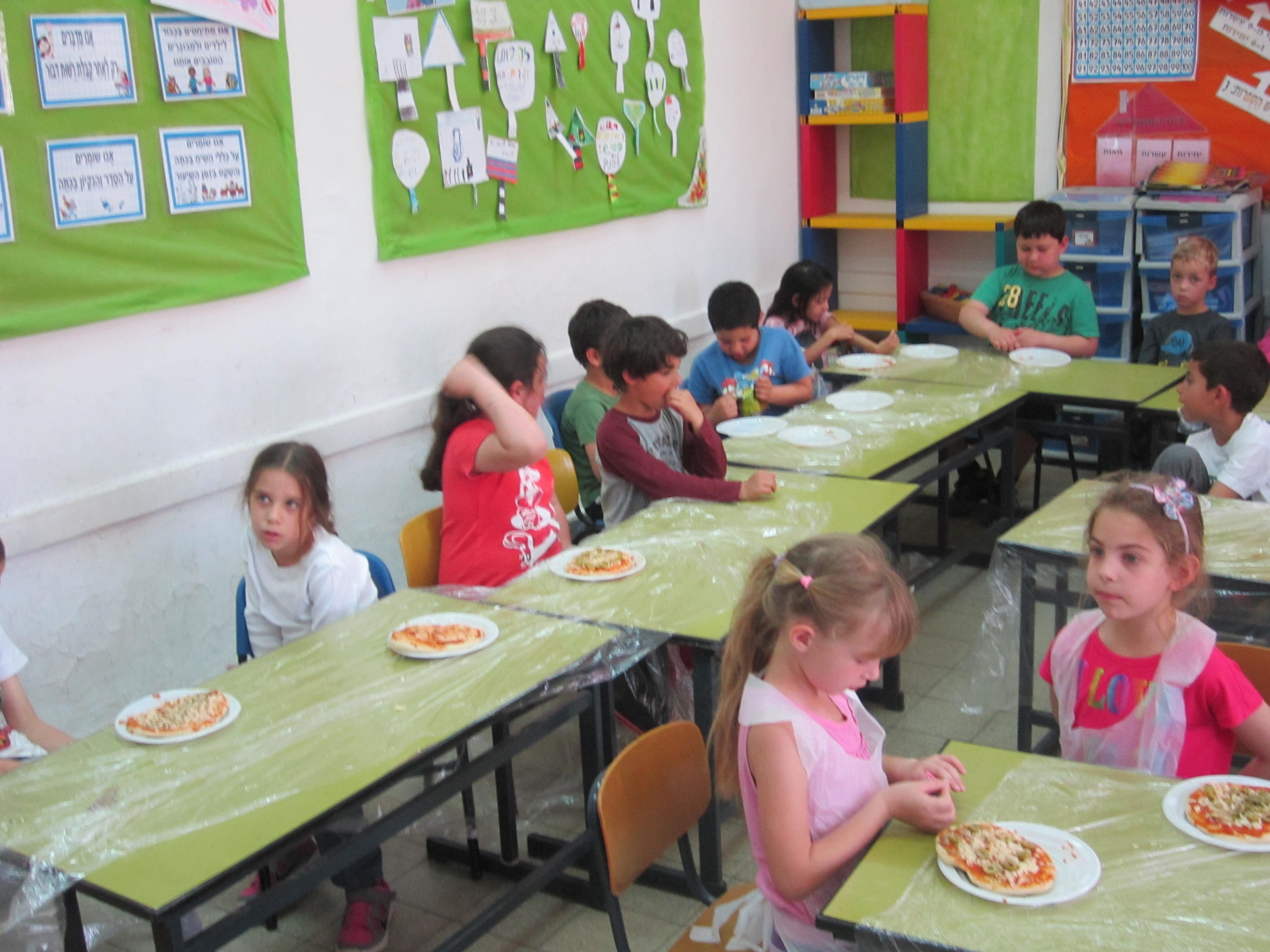 סדנת פיצה לילדים