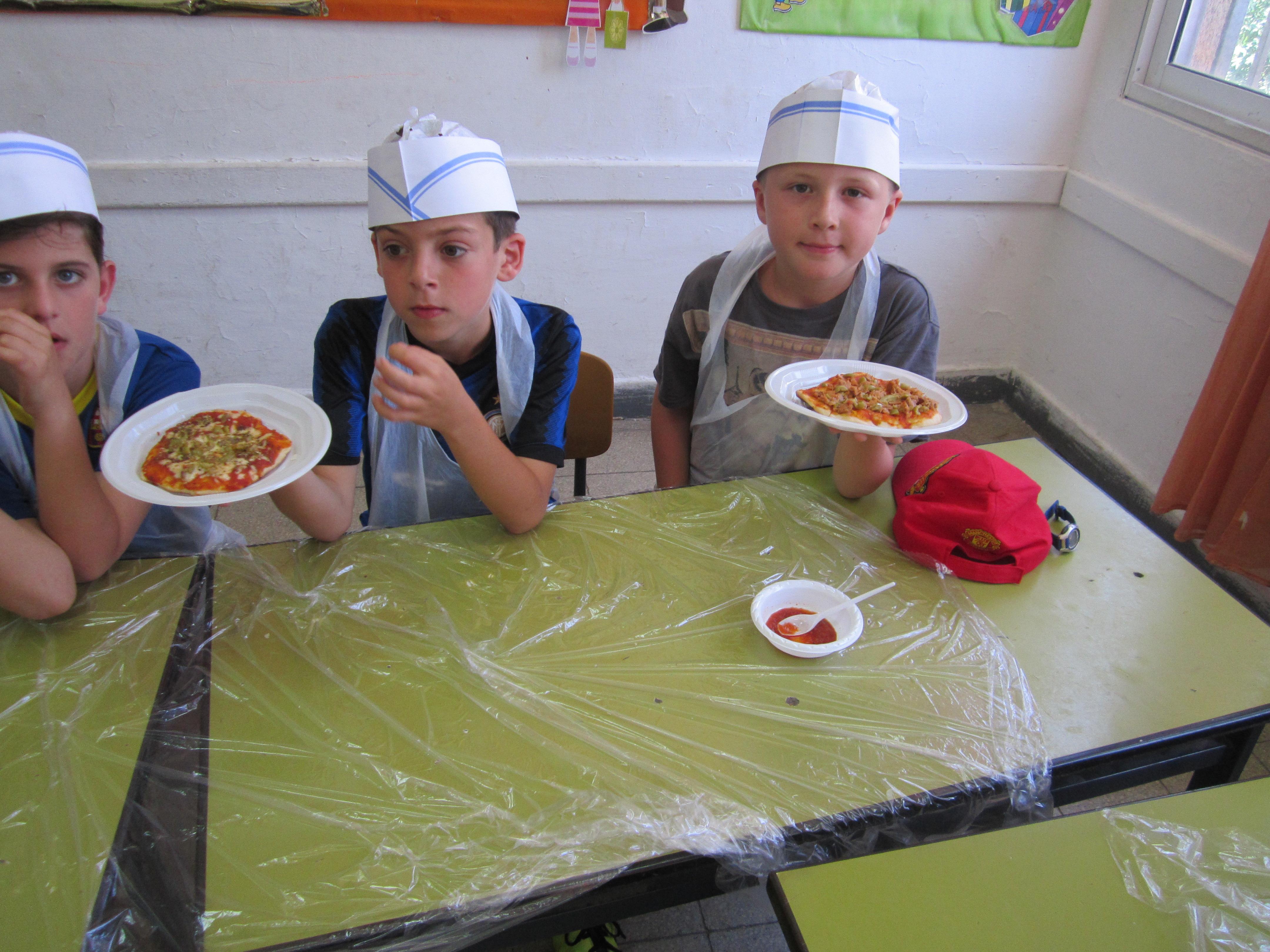 סדנאות פיצה לילדים