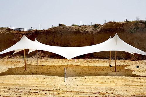 אוהל לייקרה גדול להשכרה 10*9