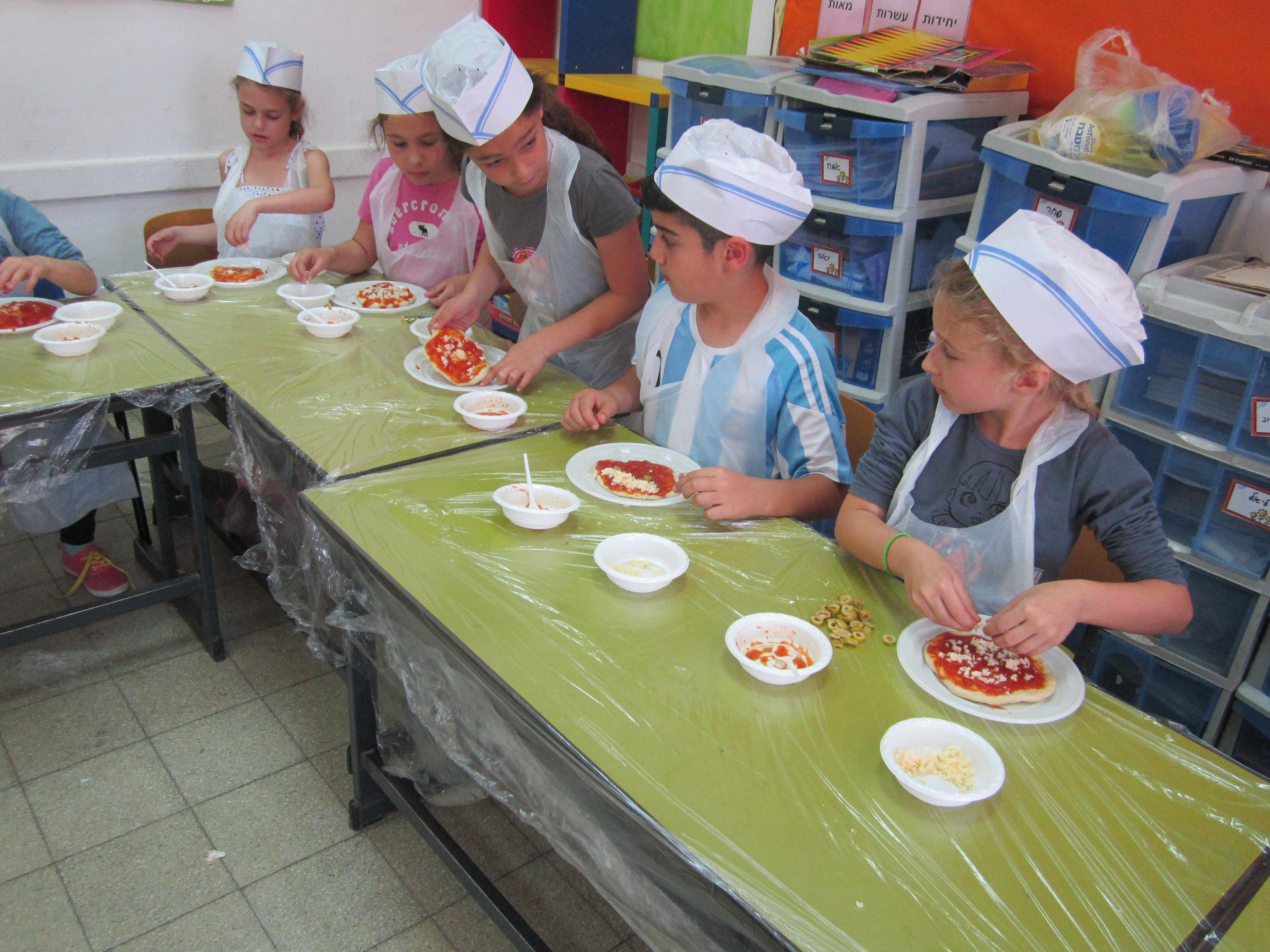 סדנת פיצה בטאבון