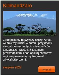 Kilimandżaro 2022