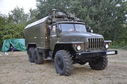 Pronájem vozidla Ural 4320