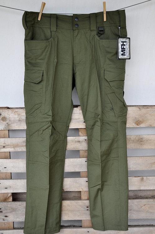 Kalhoty Storm MFH oliv