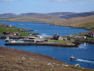 Accommodation in Shetland for £16pppn.